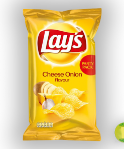 Lays cheese onion